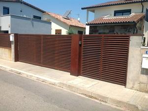 Portes correderes exteriors krode portes seccionals industrials i residencials - Puertas correderas exteriores precios ...