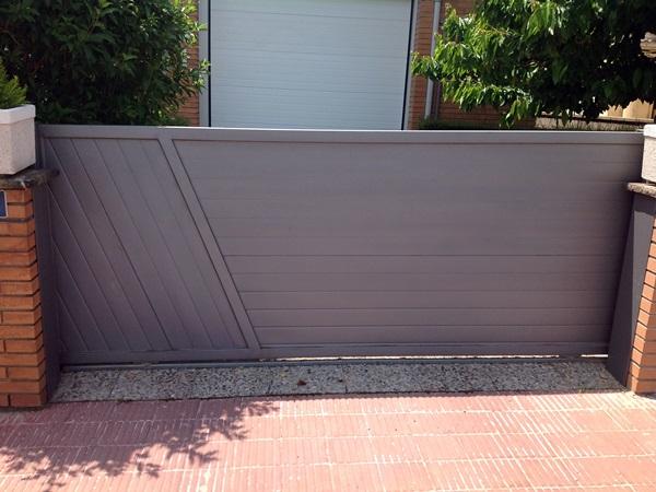 puertas correderas exteriores