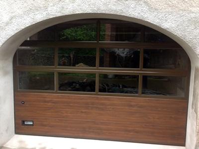Puertas seccionales acristaladas krode puertas - Puertas acristaladas exterior ...