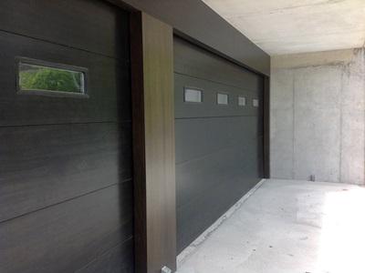 Puertas Seccionales Paneles Forrados De Madera Krode Puertas - Panelado-madera